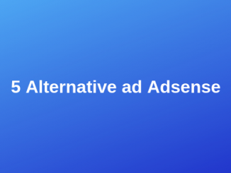 5 Alternative ad Adsense