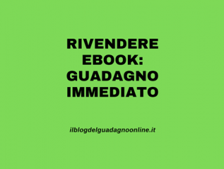 Rivendere ebook